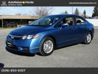 This 2009 Honda Civic Hybrid is offered to you for sale