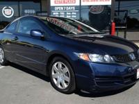 2009 Honda Civic LX Coupe! WE FINANCE -64k miles!