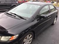 2009 Honda Civic 1.8L I4 SOHC 16V i-VTEC LX Black