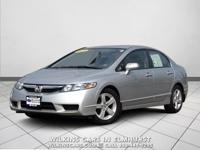 2009 Honda Civic Silver LX-S FWD Compact 5-Speed