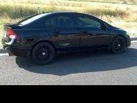 2009 Honda Civic SI i-vtec dohc 40,110 miles- Black