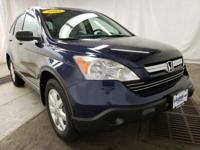 Royal Blue Pearl 2009 Honda CR-V EX AWD 5-Speed