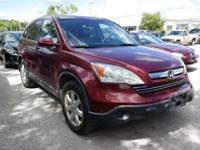 **CLEAN CARFAX** and **LOCAL TRADE**. CR-V EX-L, 4D