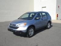 You are looking at a Blue, 2009 Honda CR-V. This is