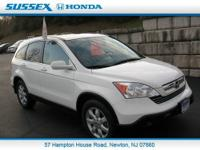 Sussex Honda is honored to present a wonderful example
