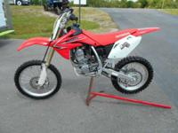 This big wheel CRF150 has just been serviced and is