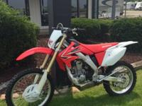 2009 Honda CRF250X The bike is immaculate and has less