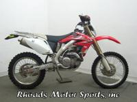 2009 Honda CRF450X Here is a bike that is really ready