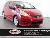 This 2009 Honda Fit Sport comes loaded with features