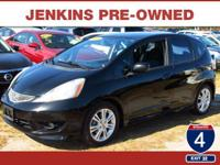 Low Miles! This 2009 Honda Fit Sport will sell fast