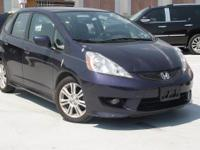 Recent Arrival! 2009 Honda Fit Sport Blackberry Pearl
