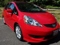 CARFAX One-Owner. Clean CARFAX. Milano Red 2009 Honda