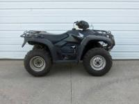 2009 Honda Foreman 4x4 manual footshift runs out good