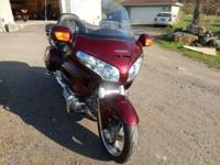 2009 Honda GL1800 Goldwing. 6800 miles- Extremely