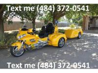 2009 Honda Goldwing 1800, touring bike. 11,400 miles.