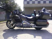 2009 Honda Gold Wing 1800 that is a 2 owner bike. It is