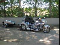 2009 Honda Gold Wing Trike with trailer. 8400 miles,