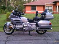 2009 Honda Goldwing Titanium in color with 8678miles