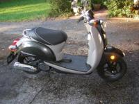 THIS HONDA METROPOLITAN HAS ONLY 2,300 ORIGINAL MILES,
