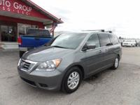 Options:  2009 Honda Odyssey Family-Friendly And Loaded