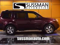 Options:  2009 Honda Pilot Ex-L|Contact Marty Sussman