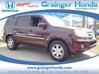 Touring trim. Honda Certified, Excellent Condition.