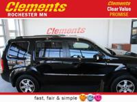Options:  2009 Honda Pilot 4Wd 4Dr Touring W/Res &