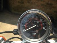 Honda Rebel 250 has 1791 miles on it, brand new clutch,