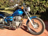 Honda 250cc Rebel with 12K miles in excellent