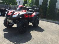 SUPER CLEAN RED 2009 HONDA RINCON 680 EFI ,