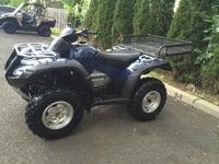 SUPER CLEAN MIDNIGHT BLUE 2009 HONDA RINCON 680 EFI