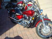 2009 Honda Shadow Aero (VT750C) VERY NICE BIKE LIKE NEW