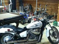 Only 8100 miles-Garage kept-Vance and Hines pipes-Adult
