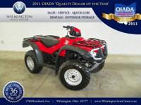 2009 Honda TRX 500 Our Location is: Wilmington Auto