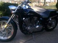 I am selling my 2009 Honda VTX 1300 because I don't get