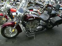 2009 Honda VTX1300T The ultimate tour bike. Must see to
