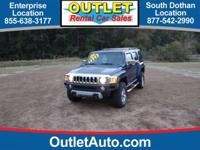 This outstanding example of a 2009 HUMMER H3 SUV Luxury