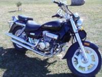 2009 Hyosung motorcycle 250 cc only 4700 miles on it