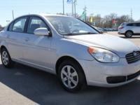 2009 Hyundai Accent GLS FWD 4-Speed Automatic with