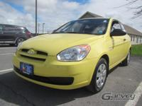 This 2009 Hyundai Accent GS is offered in the Mellow
