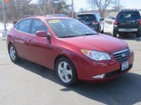 ONE OWNER and CLEAN CARFAX. Elantra GLS, 4D Sedan, and