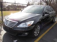 2009 Hyundai Genesis 3.8 SUNROOF/MOONROOF, LEATHER,