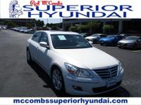 Safe and reliable, this Used 2009 Hyundai Genesis lets