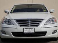 Options:  2009 Hyundai Genesis 4.6L V8 4Dr Sedan White