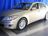 Genesis trim. ONLY 37,256 Miles! Heated Leather Seats,