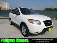 Options Included: N/A2009 Hyundai Santa Fe, white with