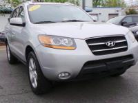 2009 Hyundai Santa Fe Limited Radiant Silver Metallic