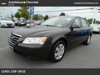 THIS 2009 SONATA FALLS INTO THE ONE OF A KIND CATAGORY