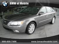 BMW of Mobile presents this CARFAX 1 Owner 2009 HYUNDAI