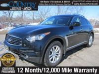AWD, Infiniti Hard Drive Navigation System, One Owner!